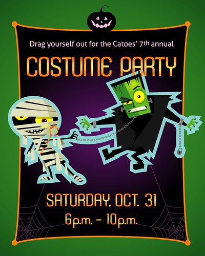 2009 Halloween party invite