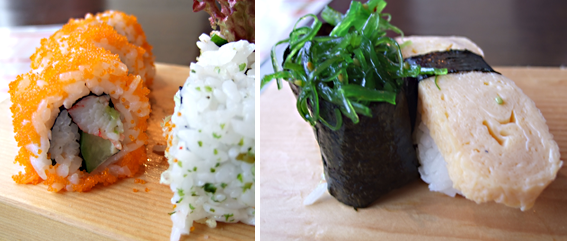 BF Birthday sushi