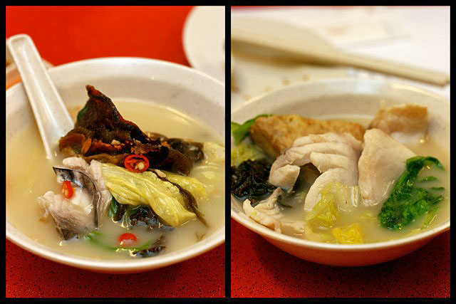 Whampoa Keng's signature fish steamboat