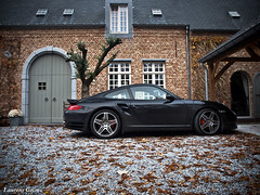Porsche 997 Turbo (Laurens Grim) Tags: holland grim olympus ede turbo german porsche laurens 997 1442 e520