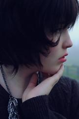 [フリー画像] [人物写真] [女性ポートレイト] [白人女性] [横顔]       [フリー素材]