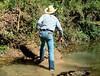 02 WS Must cross over slick mud bridge again (wranglerswimmer) Tags: swimmingfullyclothed wetjeans wetwranglerjeans guysintowetjeans