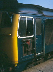 Automatic tablet catcher on loco 5126 at Thurso, 1973