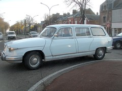 Panhard PL17 break (gueguette80 ... Définitivement non voyant) Tags: old cars break autos amiens classiccars panhard anciennes pl17