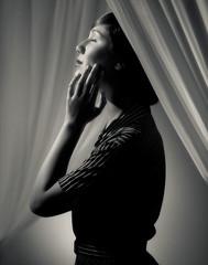 Hollywood Glamour 4 (Matt Perko Photography) Tags: bw monochrome vintage glamour hollywood elegant glamor glamorous mattperko