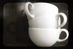 106/365 Cups (Jennifleur79) Tags: nov blackandwhite texture 10 cups 365 day106 project365 365days 365community 365nov09 jennifleur79 nejellaphotoart2009