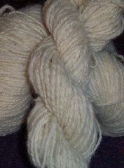 White faced woodland - spindle and wheel spun