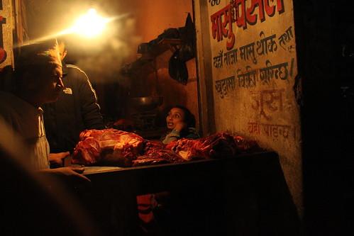 Kathmandu butcher