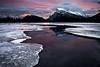 Mt Rundle - Banff National Park (Luke Austin) Tags: canada sunrise nationalpark alberta banff mtrundle vermillionlakes lukeaustin nikond700 nikon2470