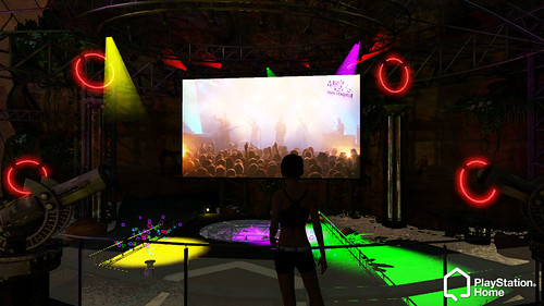 Groove Armada in PlayStation Home