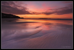 Sennen Magic (Joe Rainbow) Tags: colour beach water reflections landscape dawn cornwall sennen