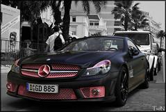 Mercedes-Benz SL 63 AMG (ThomvdN) Tags: france nikon cannes 63 sl mercedesbenz 2009 amg d60