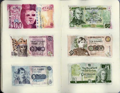 Scottish money by wil_freeborn