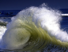 Roller Wave (William  Dalton) Tags: ocean sea waves wave atlanticocean roughsea largewaves roughocean