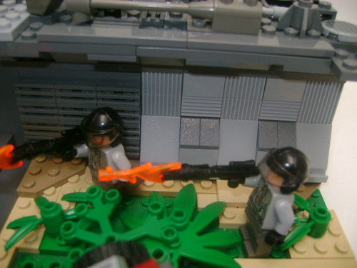 C.O.P Outpost Diorama
