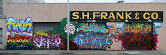 Punch, Naka, Skilo, Plantrees, Kode, Optimist, Harsh, Versuz (funkandjazz) Tags: sanfrancisco california de nbc graffiti mural pop punch optimist bos lts harsh bmb kode htk tfl naka plantrees kog skilo versuz