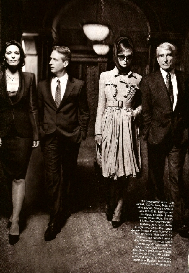 Crime of fashion - Harper's Bazaar  - Nov. 2009 (8)