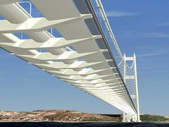 Messina Strait Bridge :  December 23, 2009 works started (Luigi Strano) Tags: italien bridge italy europa europe italia ponte sicily calabria italie sicilia messina