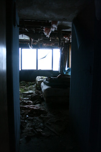 Dilapidated room in the Westchester