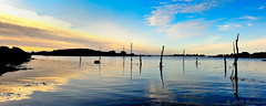Sunset on Port Mazou (Brestitude) Tags: sunset sea mer port harbor brittany bretagne breizh coucherdesoleil couchédesoleil finistère abers d700 nikkor1424mm brestitude portmazou