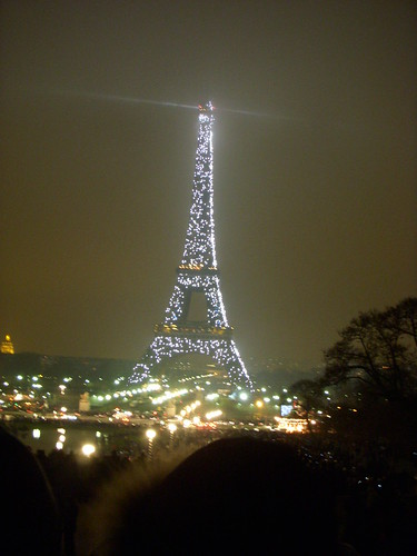 Eiffel Tower on NYE
