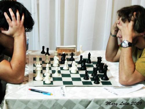 ajedrez por Mary Lobo.