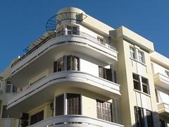 deco apartment building