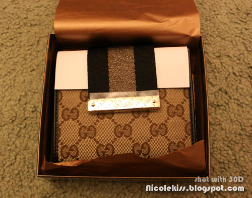 Gucci cruise wallet GG fabric 2