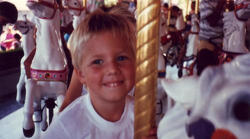 Robby Disneyland Aug 1987