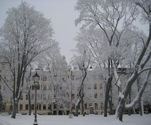 Helsinki, Vanhan kirkon puisto