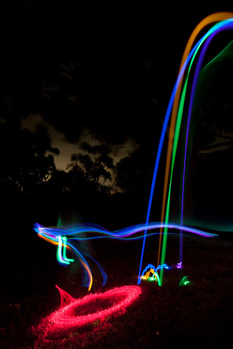 Glowsticks and lasers