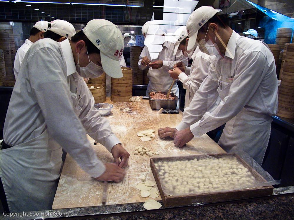 Chef @ Din Tai Fung Restaurant, Taipei, Taiwan