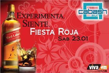Fiesta roja - Discoteca Cabash Sur
