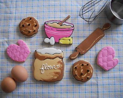 Baking Cookies (Brenda's Cakes - Ohio) Tags: sugarcookies bakingcookies decoratedcookies