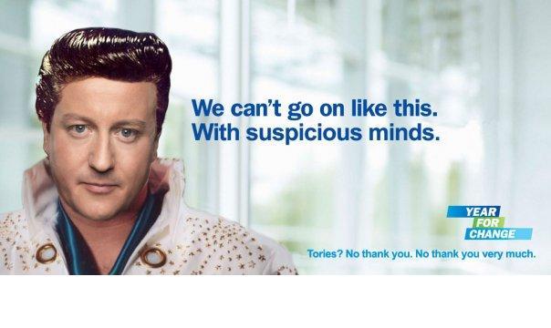 David Cameron - Suspicious Minds