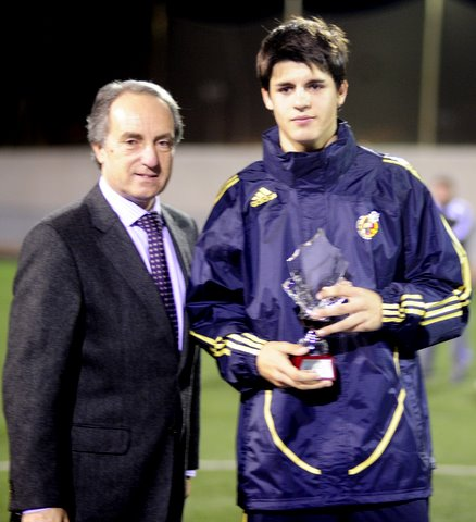 Morata, Real Madrid CF y Seleccion Nacional sub-18