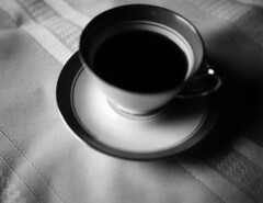 Cream & Sugar (engjoneer) Tags: stilllife film coffee closeuplens polaroid250 fujifp3000b