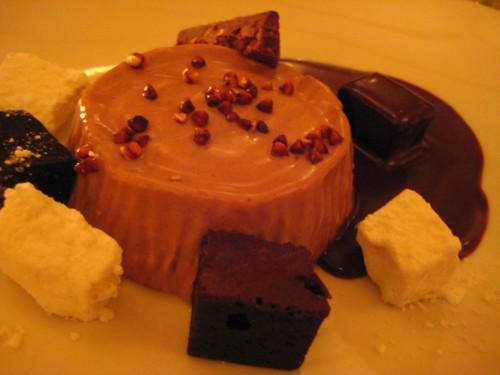 Cocoa Nib Pannacotta