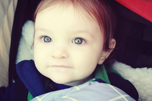 sparkly eyes.