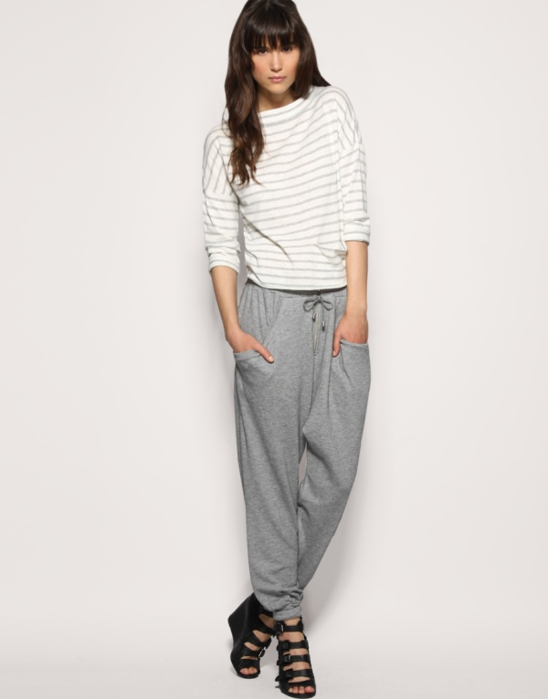 harem pant Asos sweat