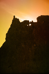 At The Storr (Namacun) Tags: sunset skye kodachrome storr thestorr weewindie namacun