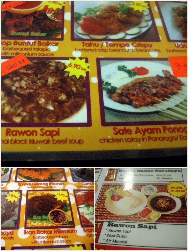 resto surabaya menu