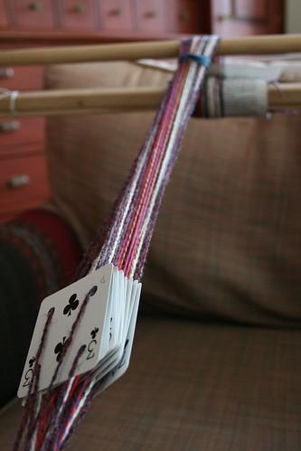 warped tablet weaving