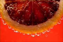Blood Orange (James_Jackson) Tags: orange water closeup fruit iso100 pattern f10 100mm fluid manual uncropped bloodorange sparklingwater ef100mmf28macrousm canoneos5d flashfired 0ev 125sec 125secatf10
