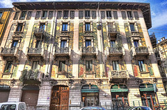 Liberty (Art Nouveau) in Milan (Fil.ippo) Tags: milan liberty milano artnouveau galimberti hdr filippo d5000 casagalimberti malpighi sottoilcielodimilano