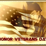 Veterans Day - photo and graphic by jeannerene