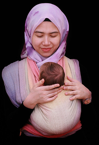 Babywearing Mommy