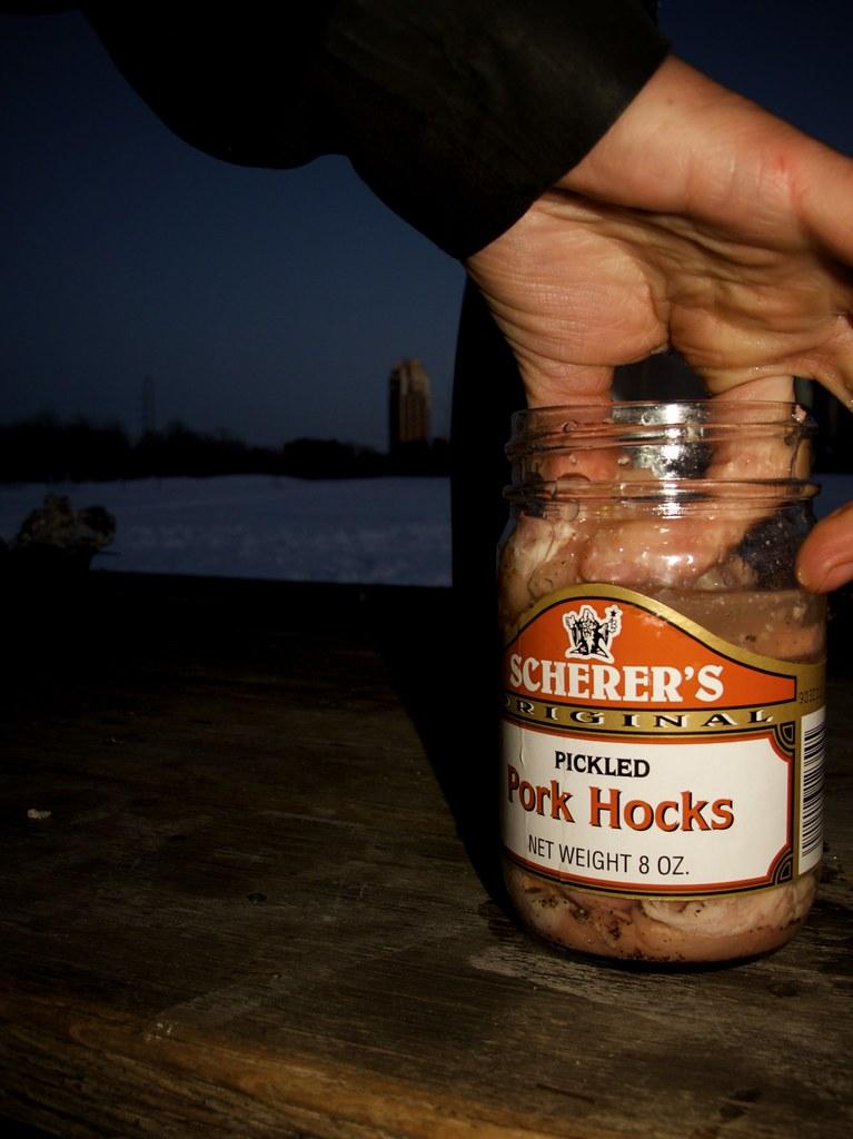 3rd Place: Pickled Pork Hocks