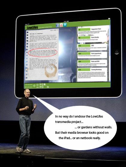 Lowlifes on the iPad