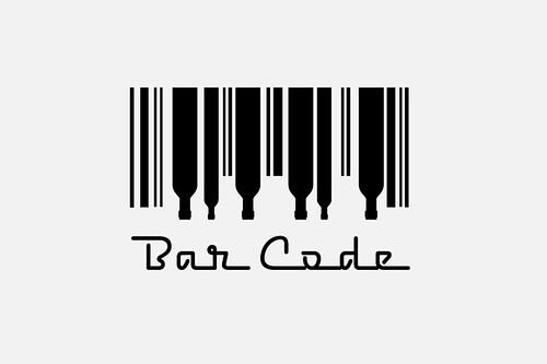 bar code logo. Bar Code Logo